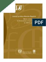 13 Léxico Jurídico Alemán-Español - Breve Compilación de Técnicismos Utilizados en El Ámbito Jurí