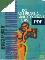 Vol6 - Do Pau-brasil a Antropofagia - Oswald de Andrade
