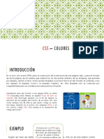 3.1 - CSS – Colores