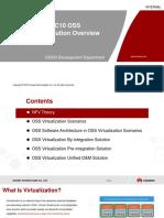 Training Document U2000 MBB V200R018C10 OSS Virtualization (1) Solution Overview V1.0