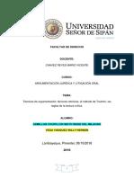 Monografia de Argumentacion Juridica ()