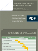 Snip Ultimo Trabajo de Formulacion y Evaluacion de Proyectos