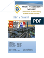GAFI y Panamá