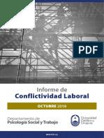 Conflictividad Laboral Informe Oct 2018