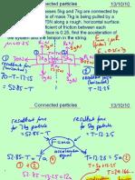Mechanics 1 Connected Particles 131010