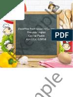 Recettes Traditionnelles Corses Français_anglais Collège Padule AJACCIO CORSE