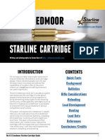 Starline Free 6.5 Creedmoor Cartridge Guide