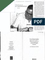 CARDOSO, Ciro Flamarion. Um Historiador Fala de Teoria e Metodologia