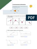 Guía de Reforzamiento de Matemática 4