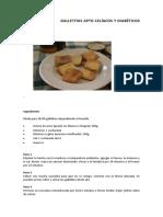 Galletitas Apto Celíacos y Diabéticos