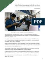 20-10-2018- Sonora primer estado fronterizo en generación de empleos - opinionsonora