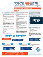 APA Voice Voter Guide November 2018 (Chinese)