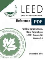 1 Leed Canada Ncv1.0 Introduction