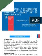Bioestadistica y Estadigrafos Peec Sept 2013 [m