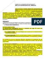 FUNDAMENTOS DE PSICOLOGIA - PREGUNTAS, RESPUESTAS