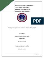 Catalogo Analizador in Situ de Materia Orgánica DBO y DQO
