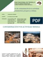 Casos de Contaminación Minera, Agroindustrial, Pesquera y Urbana
