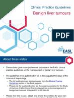 Benign Liver Tumours EASL CPG