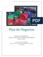 Plan de Negocios Mercado de Energias