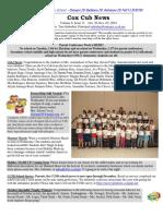 Cox News Volume 8 Issue 11
