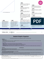 studentgraphicorganizer thedreamisnow