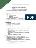 Guìa de Estudio de Instituciones Politicas Dominicanas