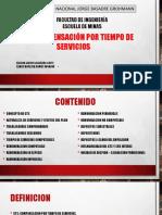 COMPENSACIÓN POR TIEMPO DE TRABAJO