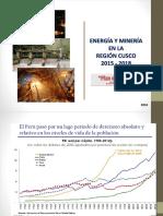 Desarrollo Minero Energético Región Cusco 2015 - 20181