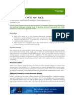 Simon Chapple Building Democratic Resilience Policy brief