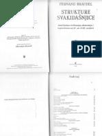 259260439 Fernand Braudel Strukture Svakidašnjice Vol I