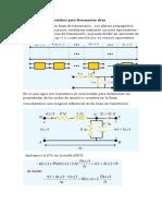Modelo Circuital de La Línea de Transmisión