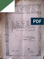 Cuget Romanesc anul I, nr. 2, martie - aprilie 1951