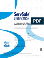 servsafe certification