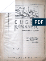 Cuget Romanesc anul I, nr. 4, 1951