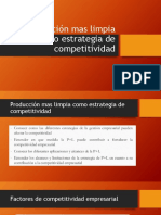 Producción Mas Limpia Como Estrategia de Competitividad