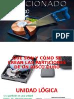 PARTICIONES EN DISCO DURO