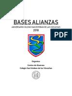 Bases Alianzas 2018