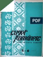 Cuget Romanesc anul I, nr. 5-6, decembrie 1951