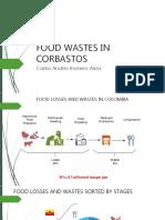 Food Wastes in Corabastos