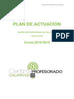 Plan de Actuación CALATAYUD 18-19