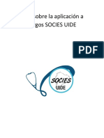 Guía sobre la aplicación a cargos SOCIES UIDE