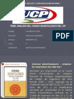 ANALISIS CODIGO DEONTOLOGICO.ppt
