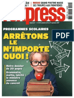 LExpress 13 Septembre 2017