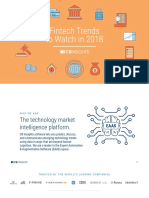 CB Insights Fintech Trends 2018