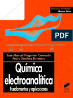 Quimica Electroanalitica_Jose Manuel Pingarron