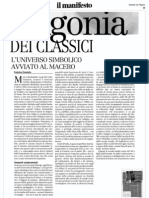 Agonia dei Classici