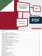Direito Previdenciário - Custeio (Lei 8.212) - Contribuições