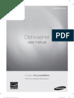 Samsung Dishwasher Model DW80F600 Manual