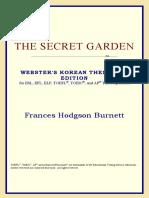 Frances Hodgson Burnett - The Secret Garden (Webster's Korean Thesaurus Edition) (2006)