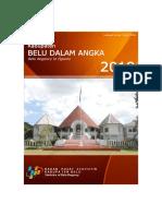 Kabupaten Belu Dalam Angka 2018